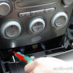 Как снять центральную консоль в Mazda 6 2007 года