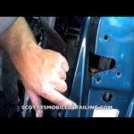 Как снять дверную панель Chevy Astro