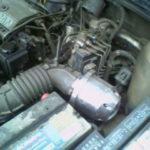 Как снять двигатель 2,2 л с кавалера