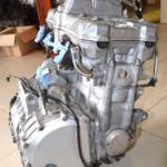 Как снять двигатель с CBR 1000