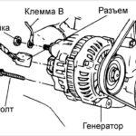 Как снять генератор с Kia