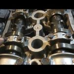 Как снять головку на двигателе Toyota 2.4L