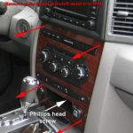 Как снять Jeep Center Console