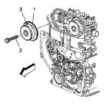 Как снять крышку на двигателе Ecotech 2.4
