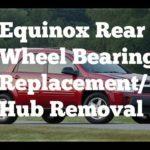 Как снять подголовники Equinox