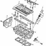 Как снять прокладку головки с Kia Sportage