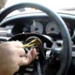 Как снять руль в Dodge Caliber