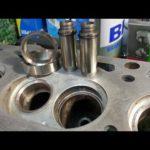 Как снять седло клапана с головки цилиндров