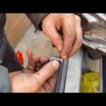 Как снять штыри дверных петель Chevrolet S10