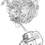 Как снять стартер с Land Rover Discovery