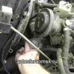 Как снять водяной насос на Ford F-250 7.3