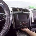 Как снять втулки рычага управления на Toyota Camry