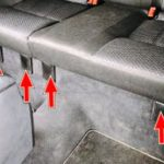 Как снять заднее сиденье Ford Focus 2000 года