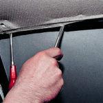 Как снять заднее ветровое стекло