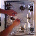 Как снять запорную газовую крышку