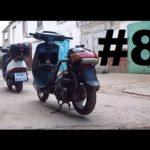 Как снять запорную газовую крышку на мотоцикле Honda
