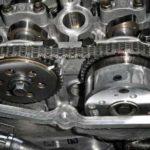 Как снять зубчатую цепь GM 3.1 V6