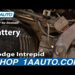 Как удалить Dodge Intrepid Radiator