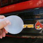 Как удалить наклейки с грузовика
