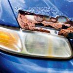 Как удалить паркинг краски Дингс