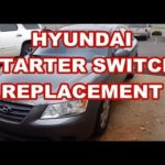 Как удалить приборную панель Hyundai Sonata 2006 года
