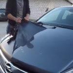 Как удалить резиновые метки с кузовной краски