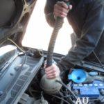 Как удалить воздух из системы охлаждения при ударе