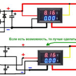 Как установить измеритель напряжения вольтметра