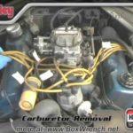 Как установить карбюратор Holley в Chevy 350
