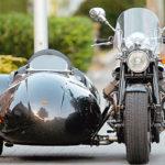 Как установить коляску Harley-Davidson