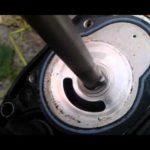 Как установить крыльчатку на подвесной мотор Force