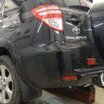 Как установить прицепное устройство на Toyota RAV4