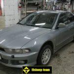 Как установить время на автомобиле Mitsubishi Galant
