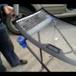 Как установить заднее стекло автомобиля