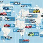 Как узнать из какой страны был сделан автомобиль по VIN номеру