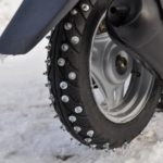 Как водить скутер зимой