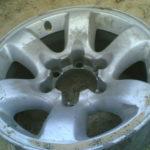 Как восстановить алюминиевые колеса