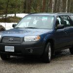 Как вращать шины на Subaru Forester