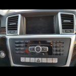 Как ввести радиокод в Mercedes ML320?