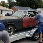 Как я могу заменить пробки замораживания в 289 Ford Mustang?