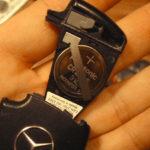 Как заменить аккумулятор автомобильного ключа в Mercedes Benz