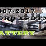 Как заменить аккумулятор в Ford Expedition