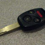 Как заменить аккумулятор в ключе Honda