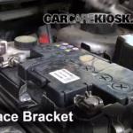 Как заменить аккумулятор в Peugeot 206