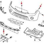 Как заменить бампер Pathfinder