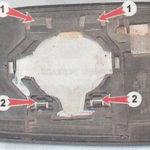 Как заменить боковое зеркало Honda CRV