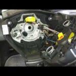 Как заменить Clockspring в VW Passat
