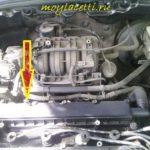 Как заменить датчик температуры охлаждающей жидкости двигателя в Chevrolet Cavalier