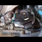 Как заменить дистрибьютора в Nissan Pathfinder