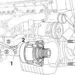 Как заменить генератор переменного тока в Mercedes Benz